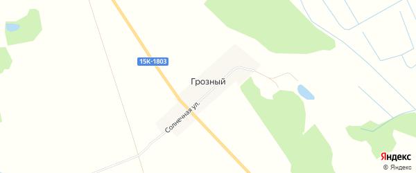 Карта Грозного поселка в Брянской области с улицами и номерами домов