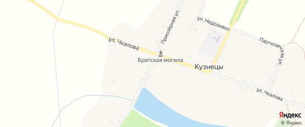 Приозерная улица на карте села Кузнецы с номерами домов