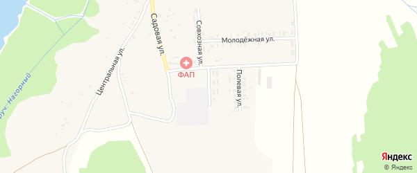 Школьная улица на карте села Кожаны с номерами домов