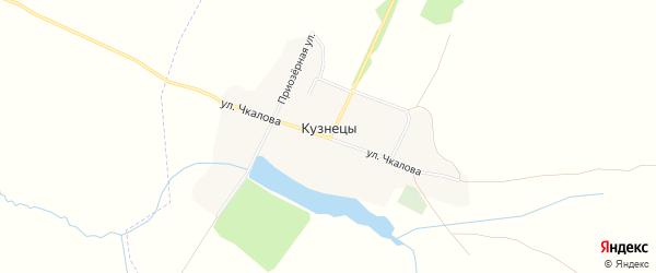 Карта села Кузнецы в Брянской области с улицами и номерами домов