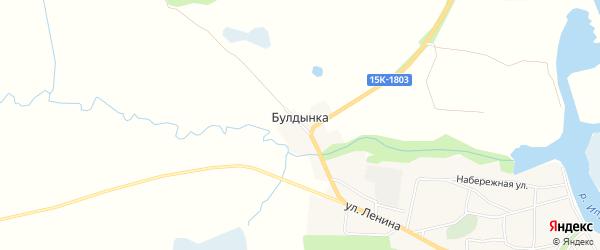 Карта хутора Булдынки в Брянской области с улицами и номерами домов