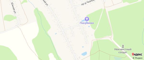 Республиканский переулок на карте Злынки с номерами домов