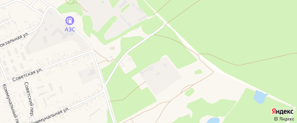 Поселок Заря на карте Злынки с номерами домов