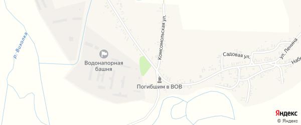 Улица Ленина на карте села Катичи с номерами домов