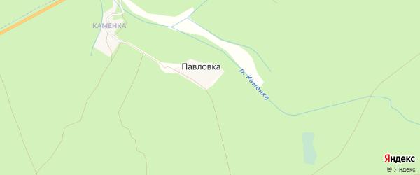 Карта поселка Павловки в Брянской области с улицами и номерами домов