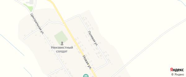 Полевая улица на карте села Уношево с номерами домов