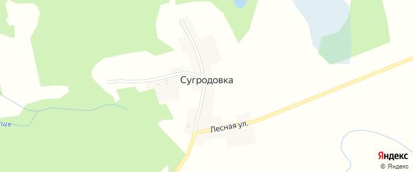 Сугродовская улица на карте поселка Сугродовки с номерами домов