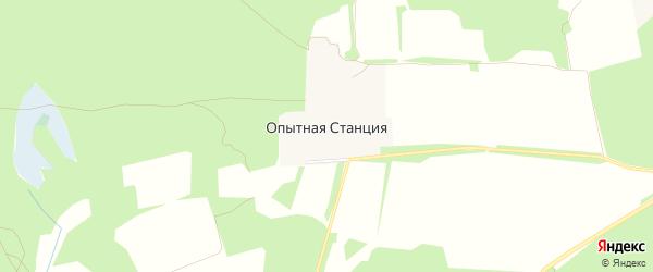 Карта поселка Опытной станции в Брянской области с улицами и номерами домов