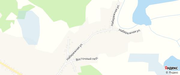 Набережная улица на карте села Смяльч с номерами домов
