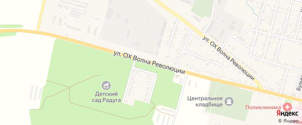 Улица ОХ Волна Революции на карте Новозыбкова с номерами домов