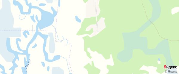 Карта поселка Нового Рассвета в Брянской области с улицами и номерами домов