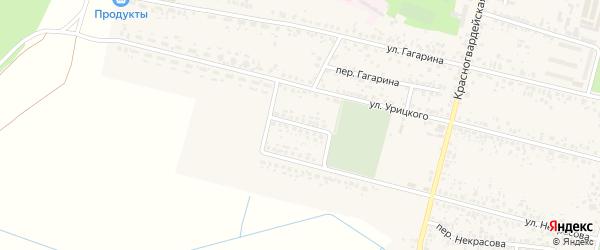 Переулок Урицкого на карте Новозыбкова с номерами домов