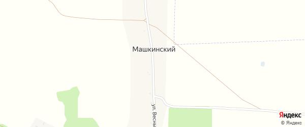 Улица Весны на карте Машкинского поселка с номерами домов