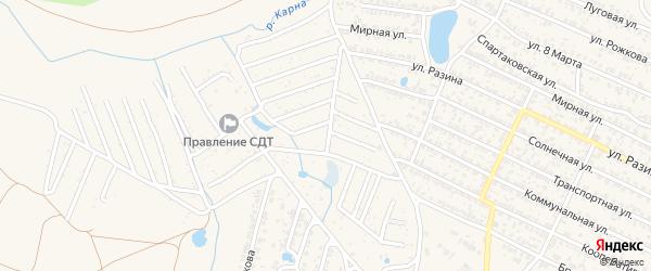 Территория сдт Березка на карте Новозыбкова с номерами домов