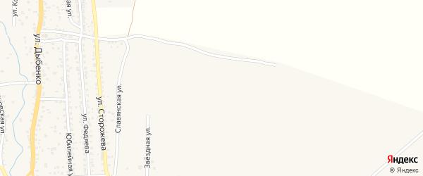 Улица Гердта на карте Новозыбкова с номерами домов