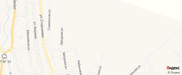 Улица Энтузиастов на карте Новозыбкова с номерами домов