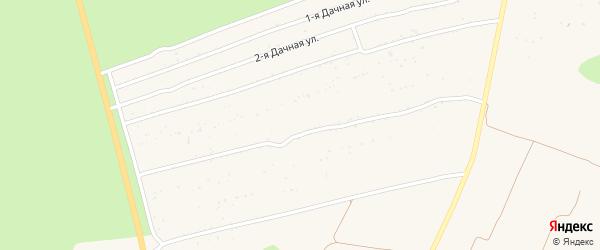 Территория сдт Рассвет на карте Новозыбкова с номерами домов