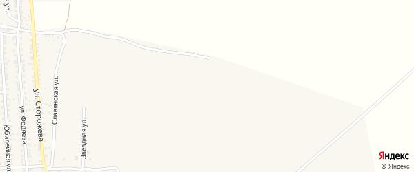 Улица Пересвета на карте Новозыбкова с номерами домов