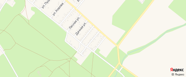 Улица Грибоедова на карте Новозыбкова с номерами домов