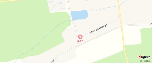 Парковая улица на карте села Фоевичи с номерами домов