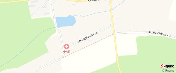 Молодежная улица на карте села Фоевичи с номерами домов