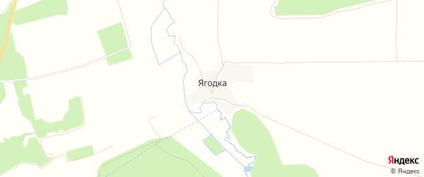 Карта поселка Ягодки в Брянской области с улицами и номерами домов