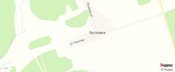 Карта поселка Бугровки в Брянской области с улицами и номерами домов