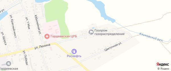 Суражская улица на карте села Гордеевки с номерами домов