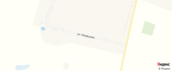 Улица Кравцова на карте села Чуровичи с номерами домов