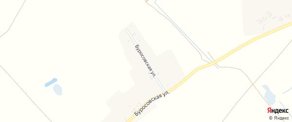 Буросовская улица на карте деревни Михайловки с номерами домов
