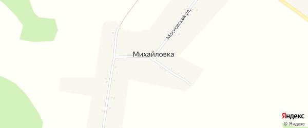 Лесная улица на карте поселка Михайловки с номерами домов