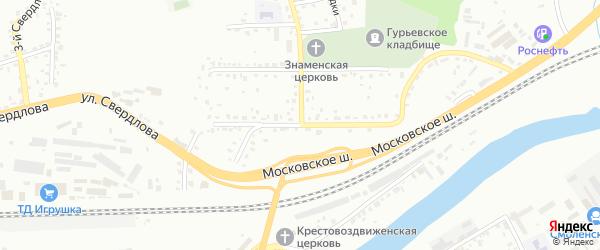 Улица Средняя Слобода-Садки на карте Смоленска с номерами домов