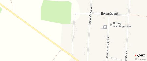Молодежная улица на карте Вишневого поселка с номерами домов