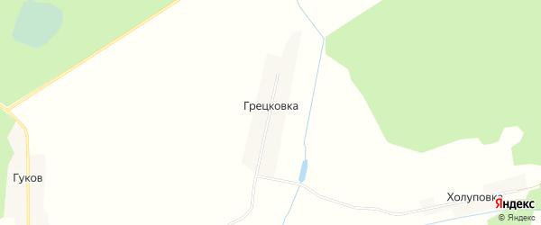 Карта поселка Грецковки в Брянской области с улицами и номерами домов