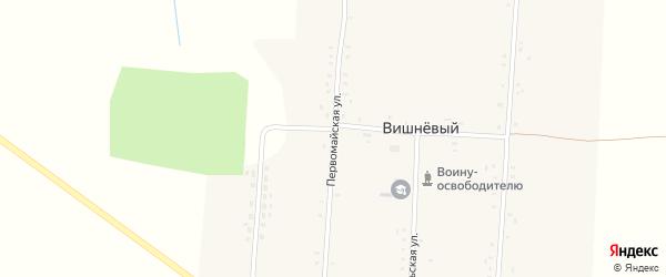 Первомайская улица на карте Вишневого поселка с номерами домов