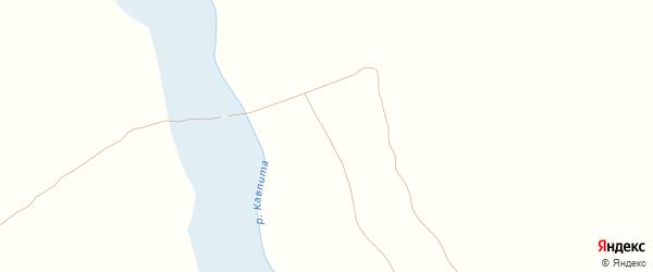 Партизанская улица на карте деревни Даниловки с номерами домов