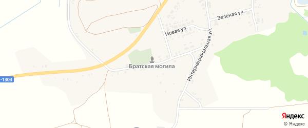 Комаровская улица на карте села Рожны с номерами домов