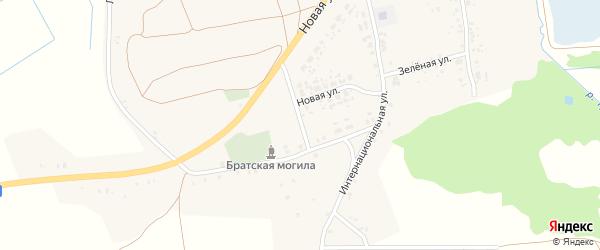 Луговая улица на карте села Рожны с номерами домов