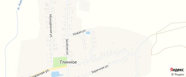 Новая улица на карте Глинного села с номерами домов