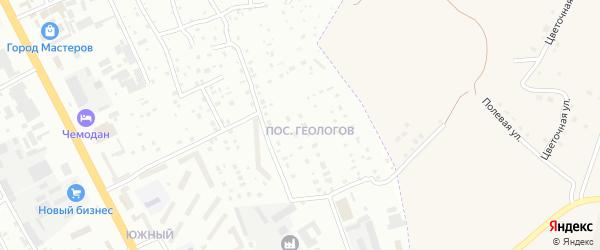 Поселок Геологов на карте Смоленска с номерами домов