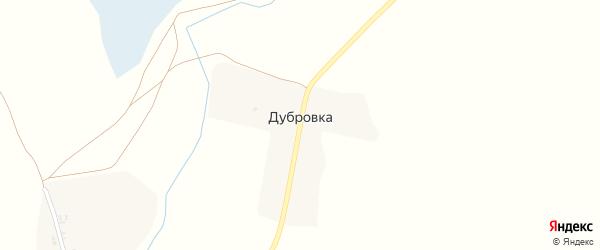 Центральная улица на карте поселка Дубровки с номерами домов