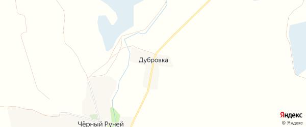 Карта поселка Дубровки в Брянской области с улицами и номерами домов