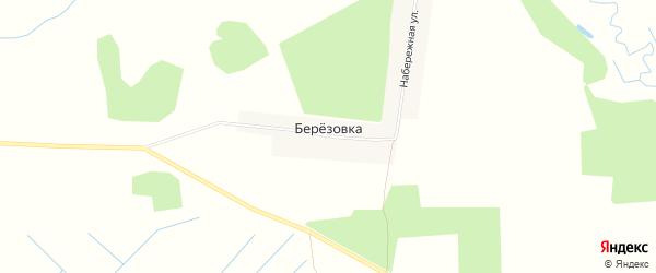Карта поселка Березовки в Брянской области с улицами и номерами домов