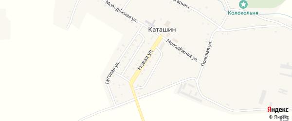 Новая улица на карте села Каташина с номерами домов