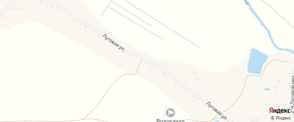Луговая улица на карте поселка Вольница 2-я с номерами домов