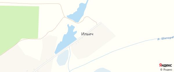 Ленинская улица на карте поселка Ильича с номерами домов