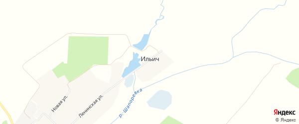 Карта поселка Ильича в Брянской области с улицами и номерами домов