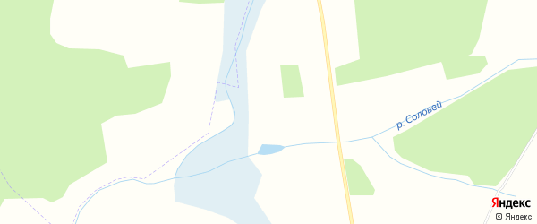 Карта поселка Ново-Сергеевки в Брянской области с улицами и номерами домов