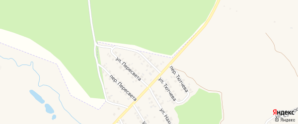 Улица Ворошилова на карте поселка Климово с номерами домов
