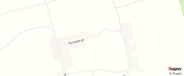Луговая улица на карте поселка Боровки с номерами домов